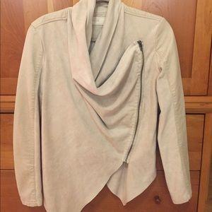 Blank NYC jacket.  Lined.  Wear zipped or unzipped